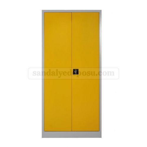 ucuz 198 lik dosya dolabı sarı